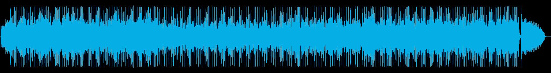 シンセサイザー中心のサンバの再生済みの波形