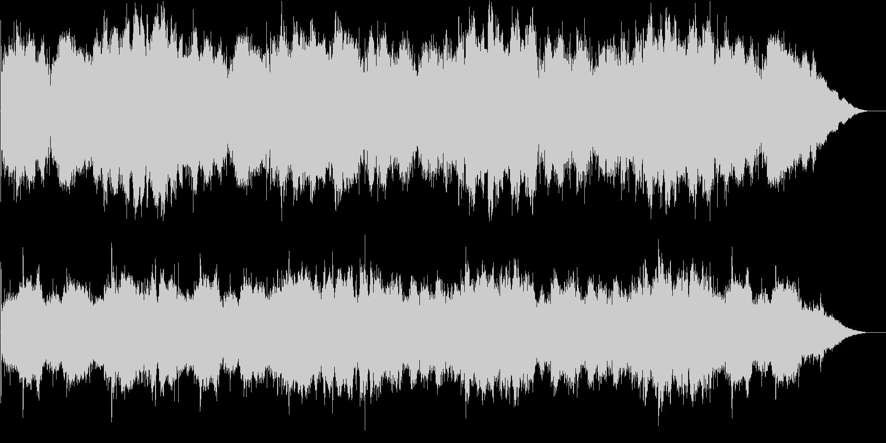 セーブ画面やセーフゾーンにおけるBGMの未再生の波形