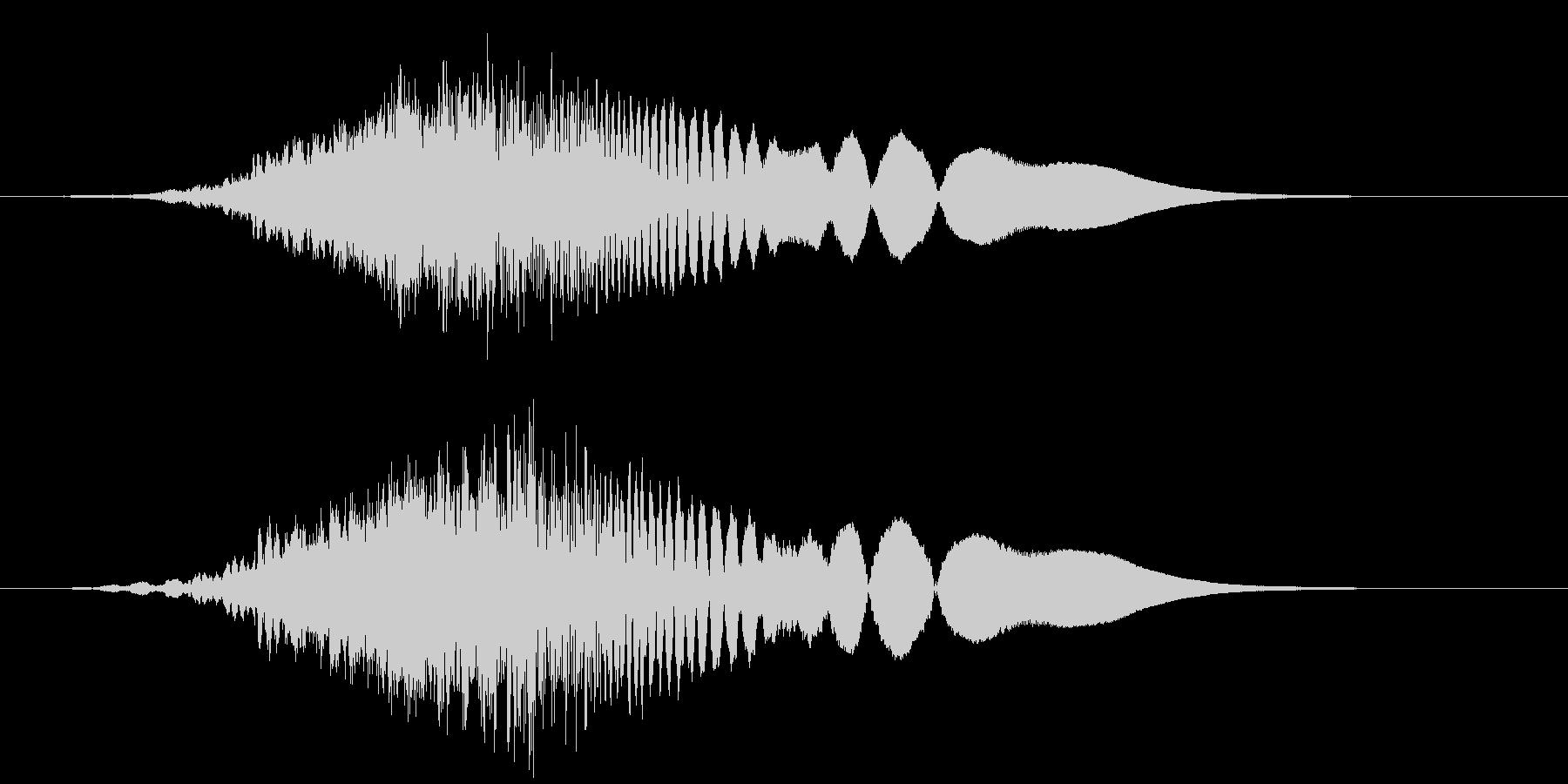 ハリウッドSF_流行_低音_ブーン_03の未再生の波形