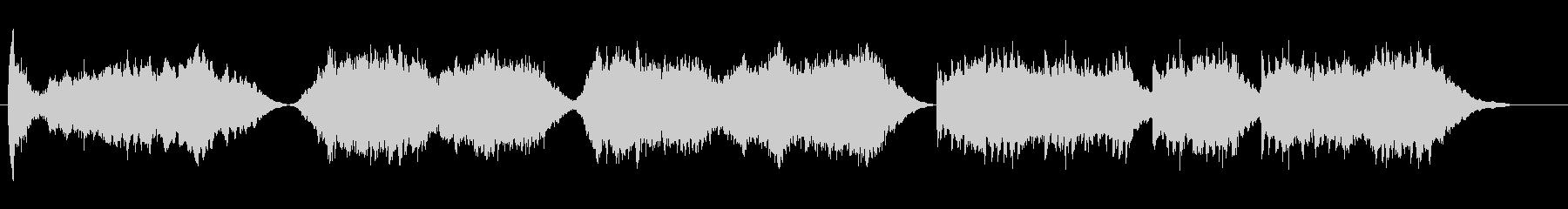 【オルゴール】幻想的なクリスマスソングの未再生の波形