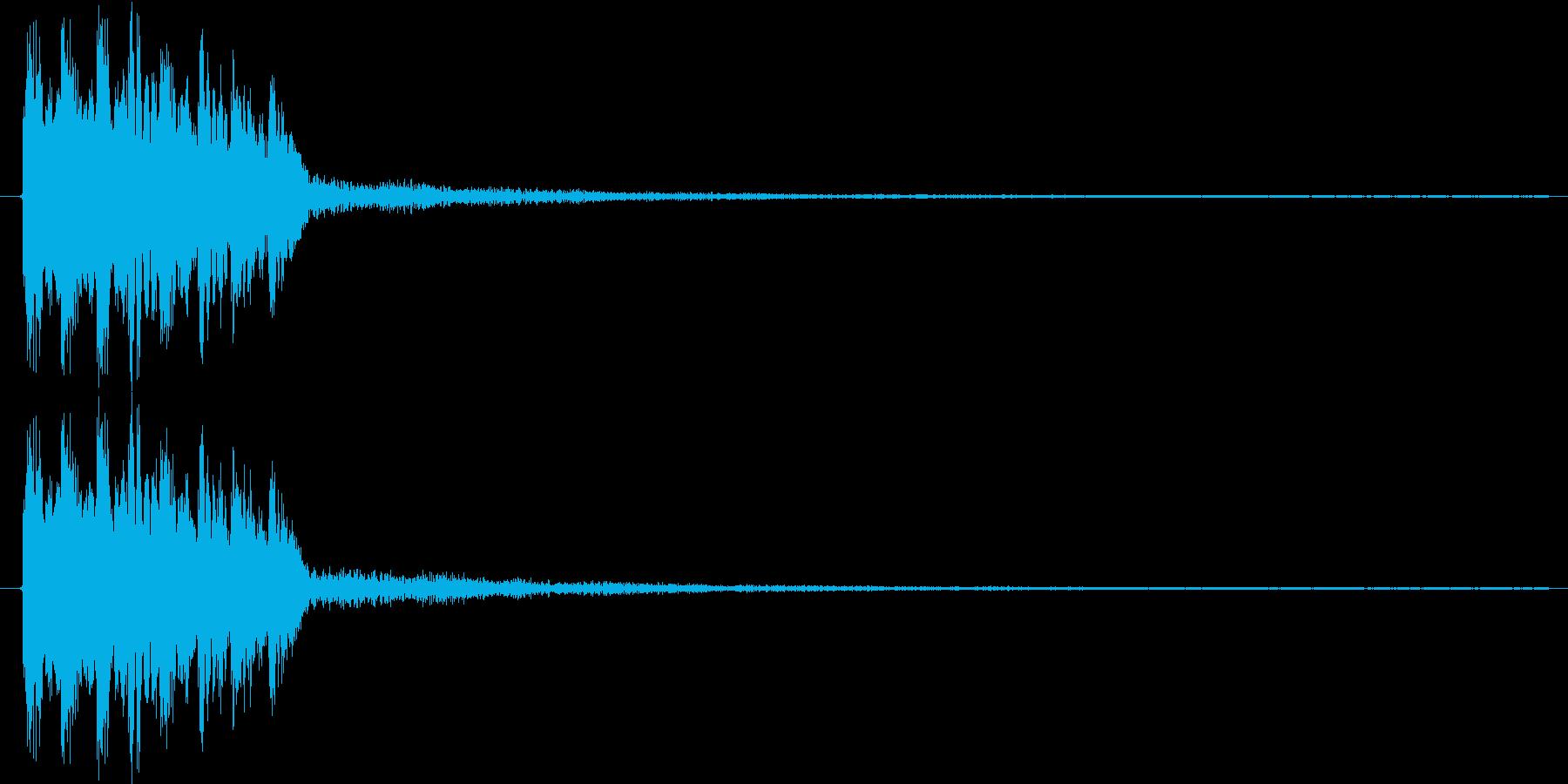ピロリロリン♪【正解音、回復音など】の再生済みの波形