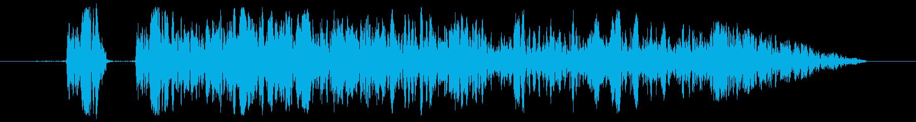 エラー/キャンセル/警告/選択不可/03の再生済みの波形