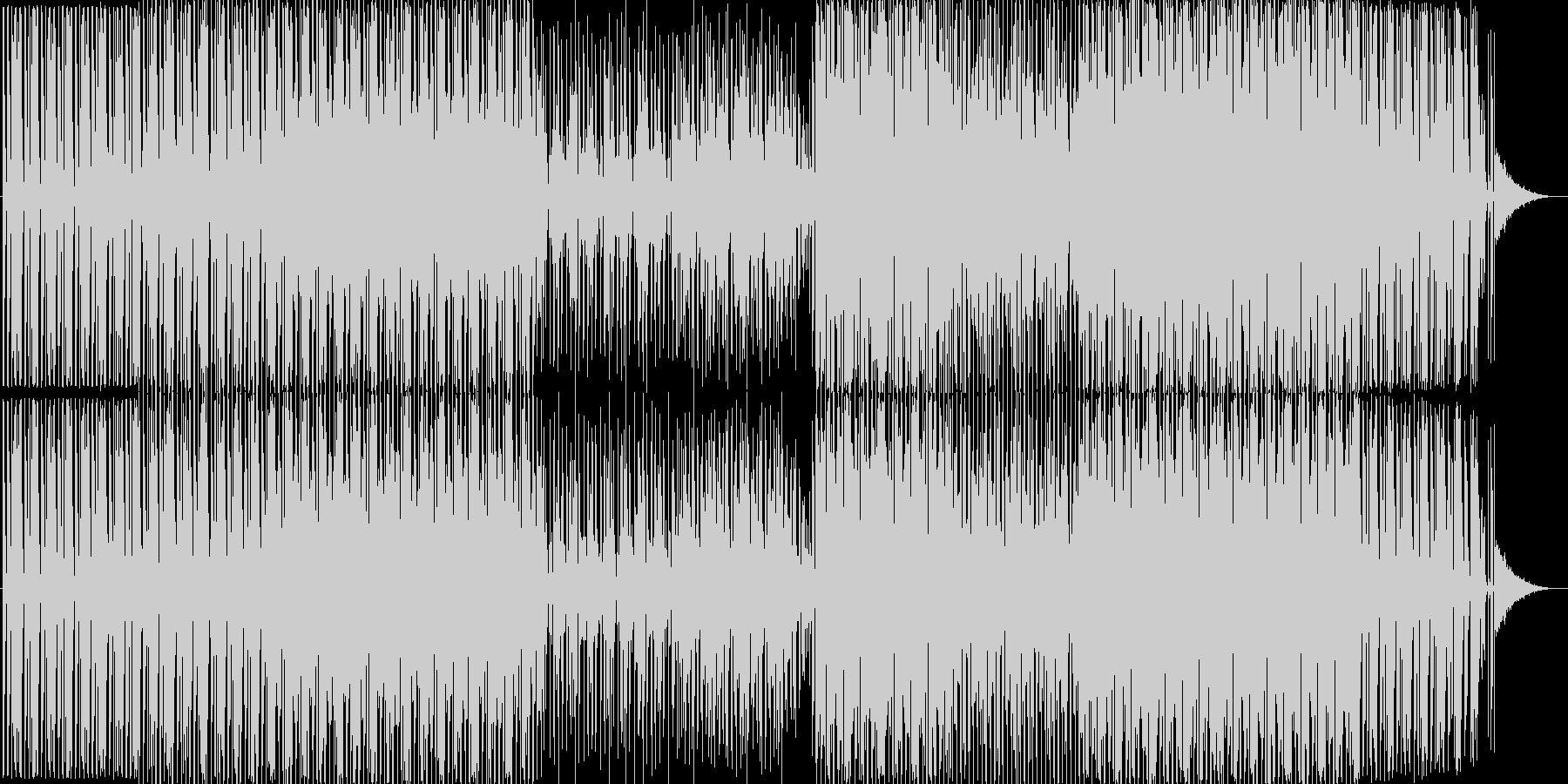 ハウスです。24bit,48kHz環境…の未再生の波形