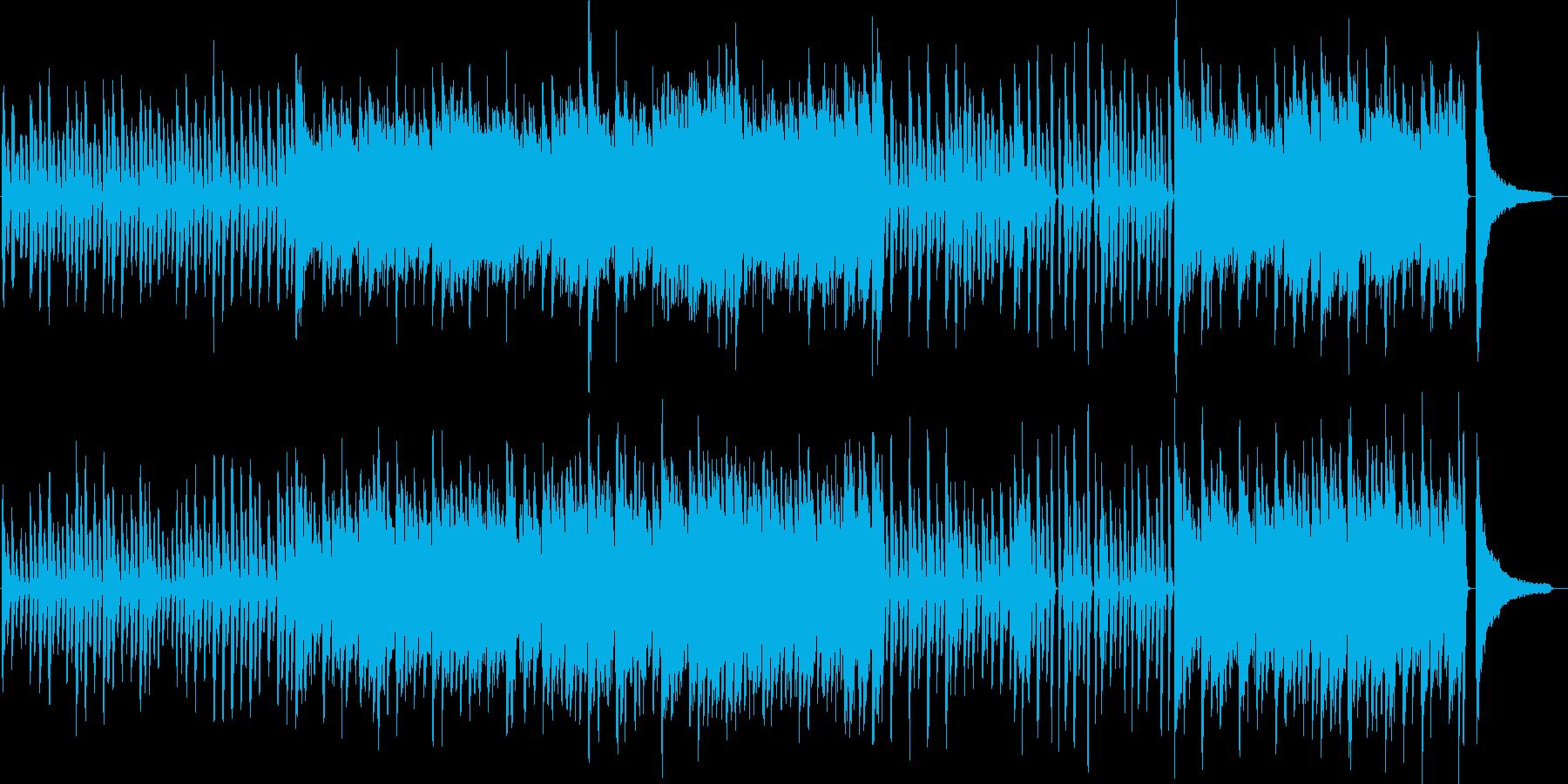 わくわく・ピアノ・映像・イベント用の再生済みの波形