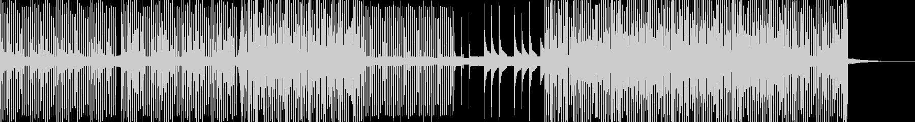 ミニマルなテクノの未再生の波形