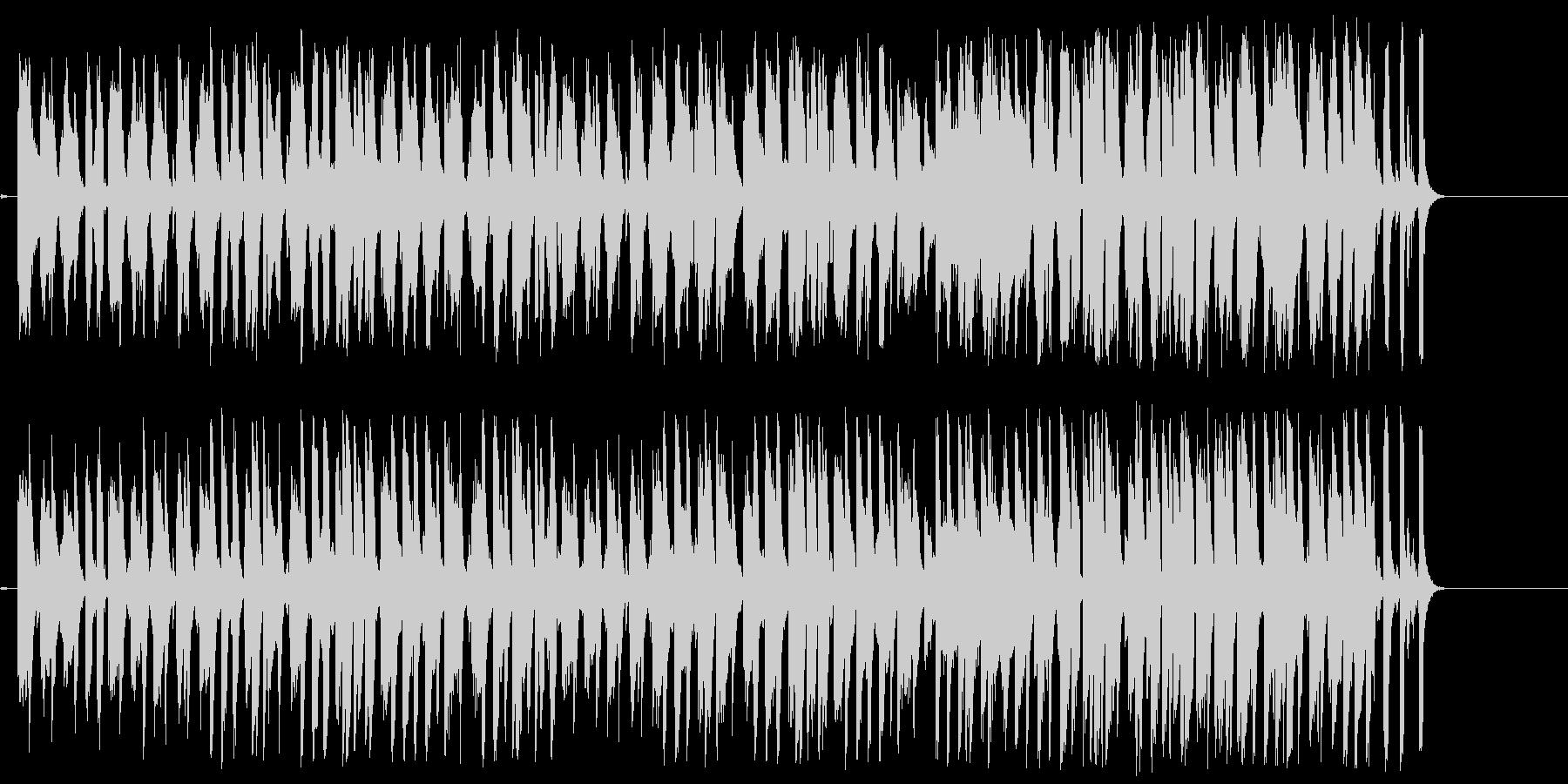 スチールドラムが特徴的な南国風ポップの未再生の波形