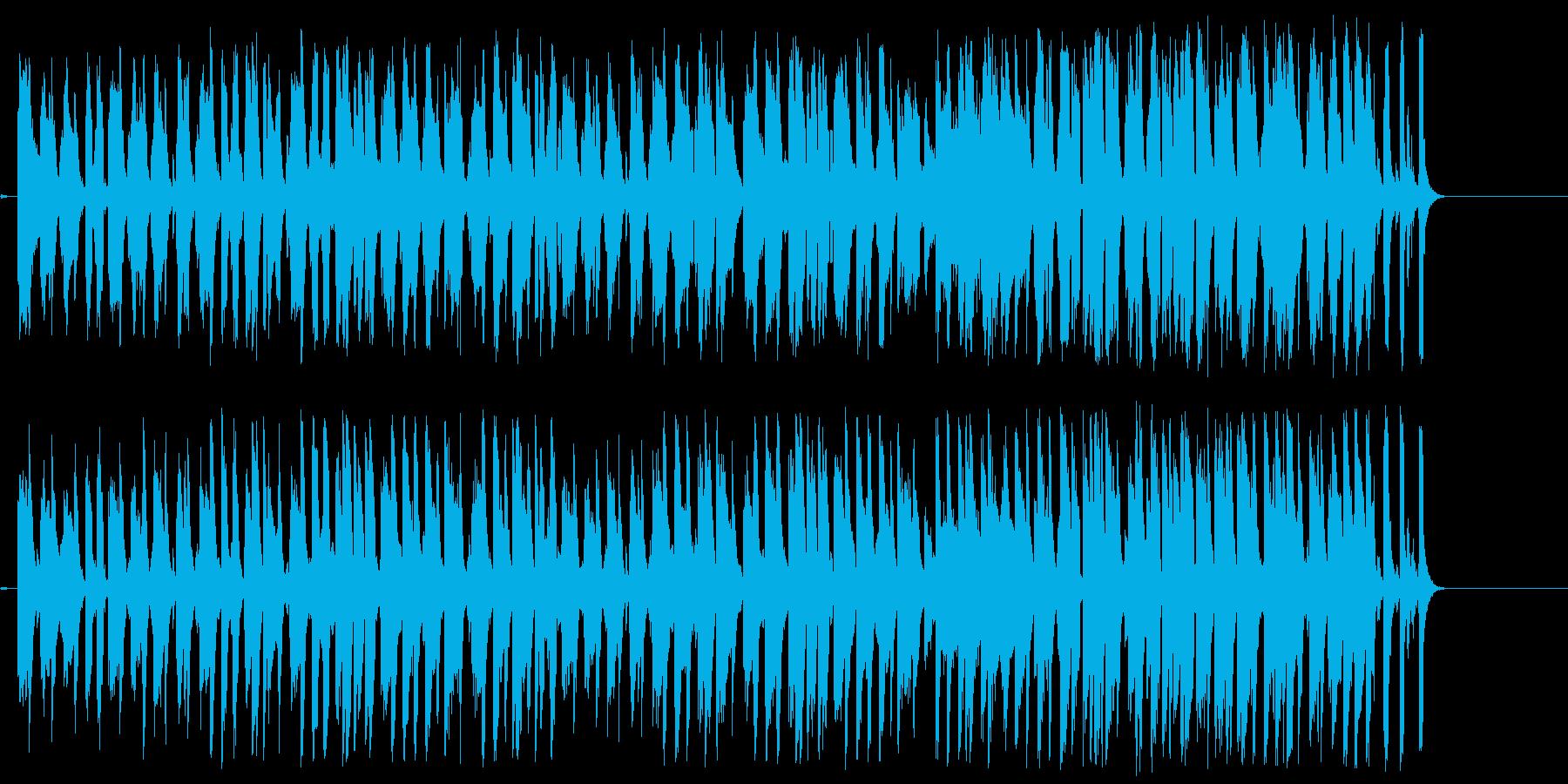 スチールドラムが特徴的な南国風ポップの再生済みの波形