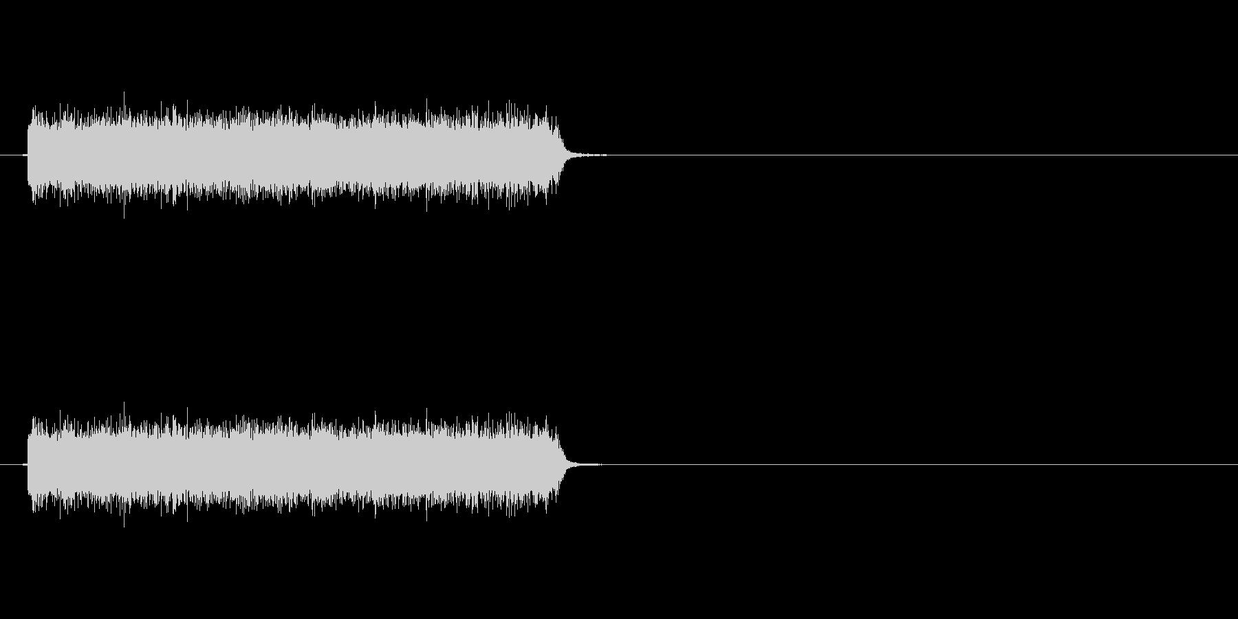 ロック曲等に使えるエレキギター効果音2の未再生の波形