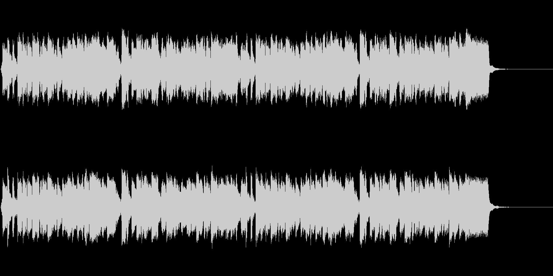 メランコリックなリコーダーワルツの未再生の波形