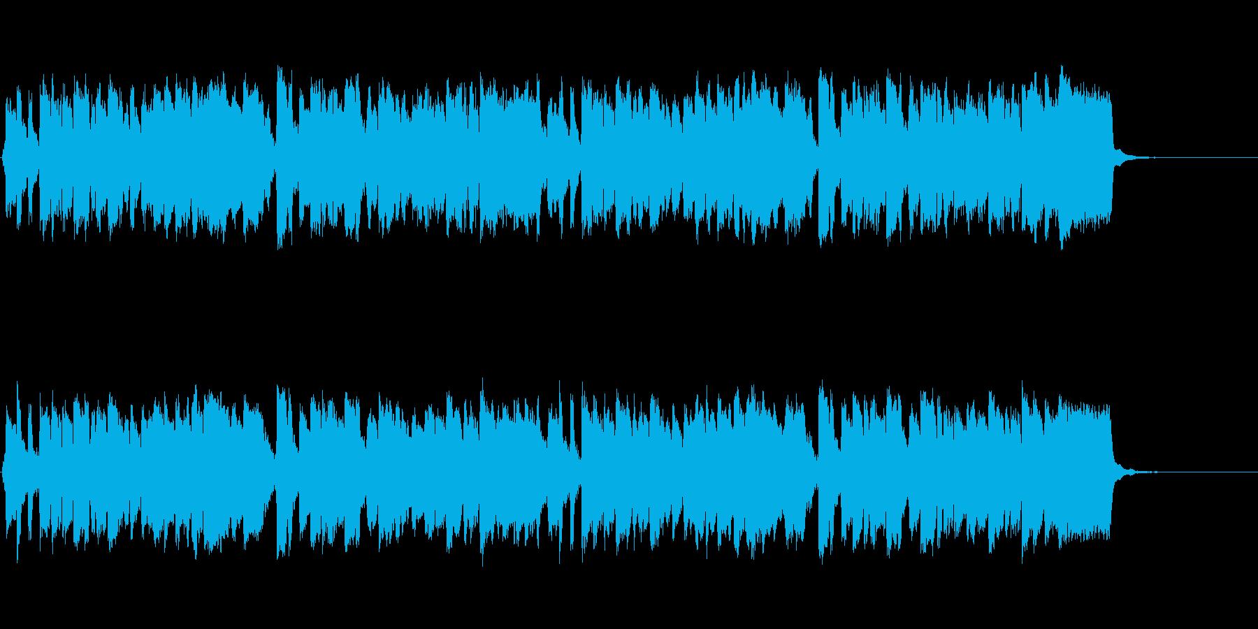 メランコリックなリコーダーワルツの再生済みの波形