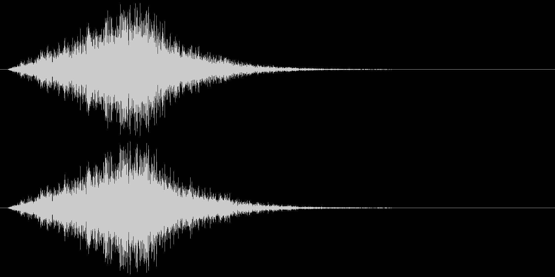 シュルリリリッ(ワープ、出現、技発動)の未再生の波形