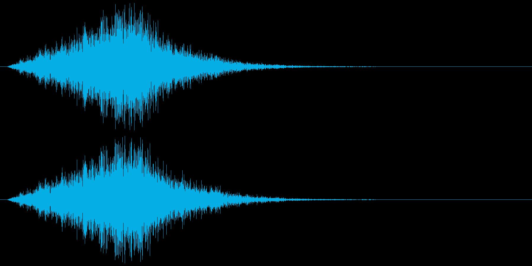 シュルリリリッ(ワープ、出現、技発動)の再生済みの波形