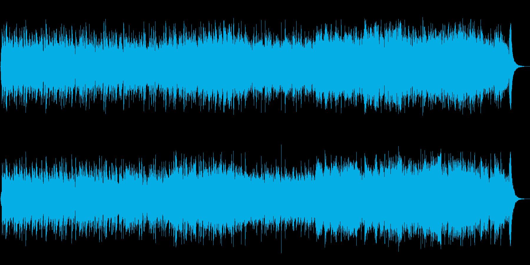 疾走感のある映像に合うオーケストラの再生済みの波形