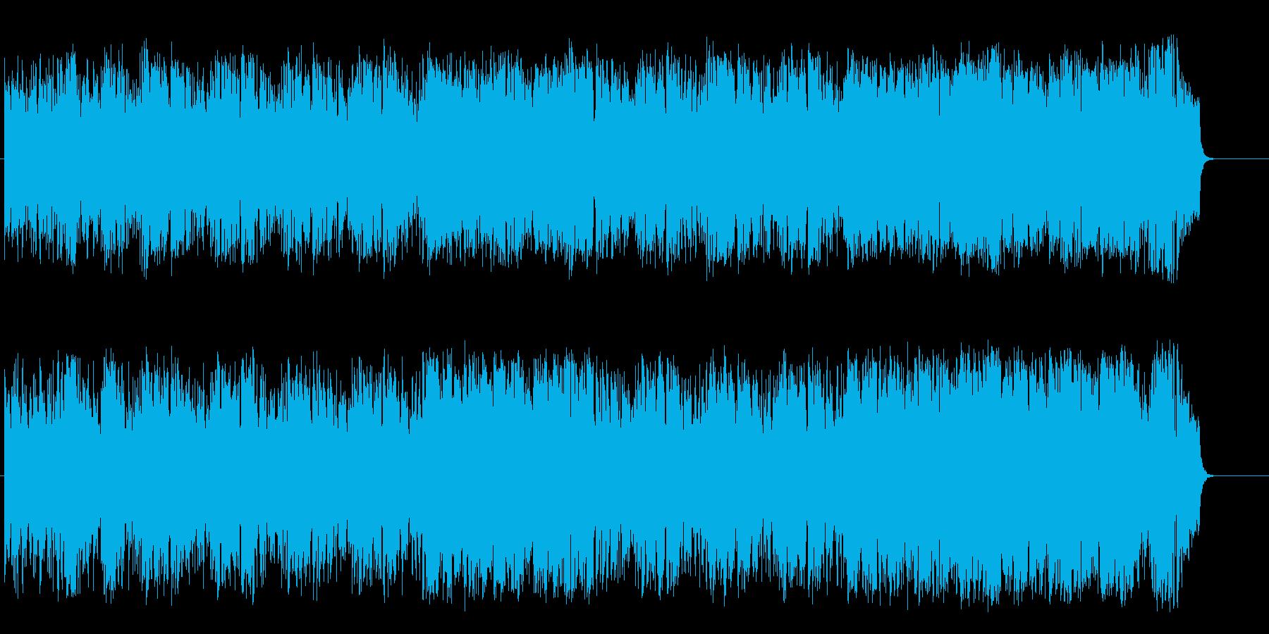 心地よく軽快なポップ・フュージョンの再生済みの波形
