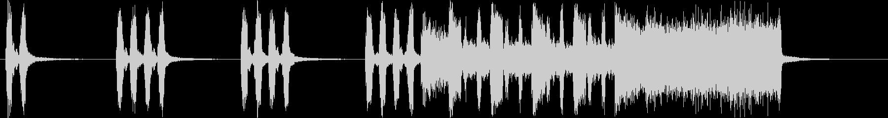 コミカルなシンセ・木琴など短めサウンドの未再生の波形