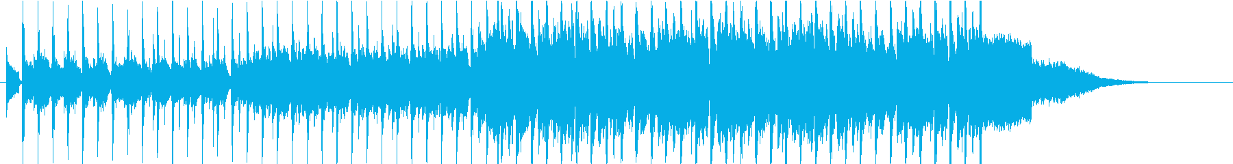 軽快でハッピーなカントリーポップスの再生済みの波形