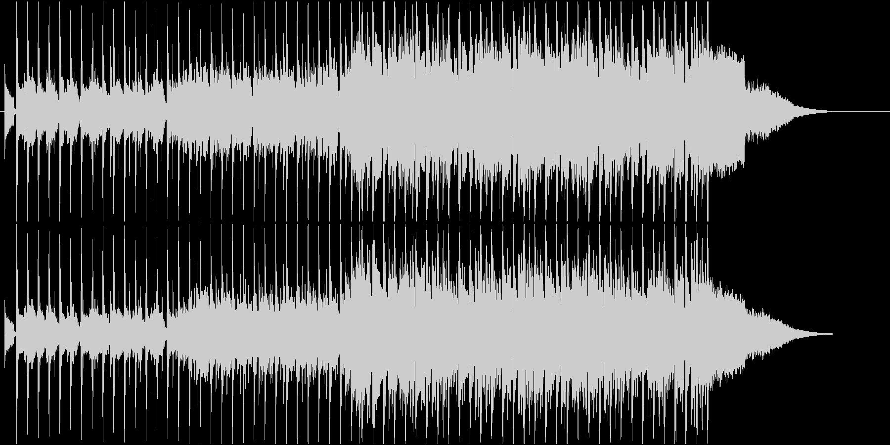 軽快でハッピーなカントリーポップスの未再生の波形