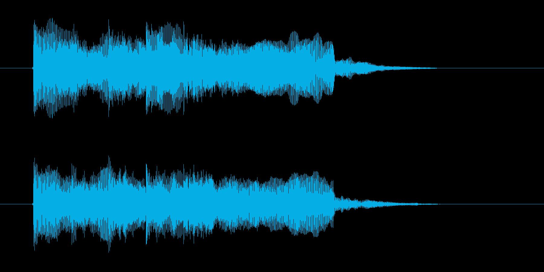 暗く重いギター音(ボス、登場)の再生済みの波形