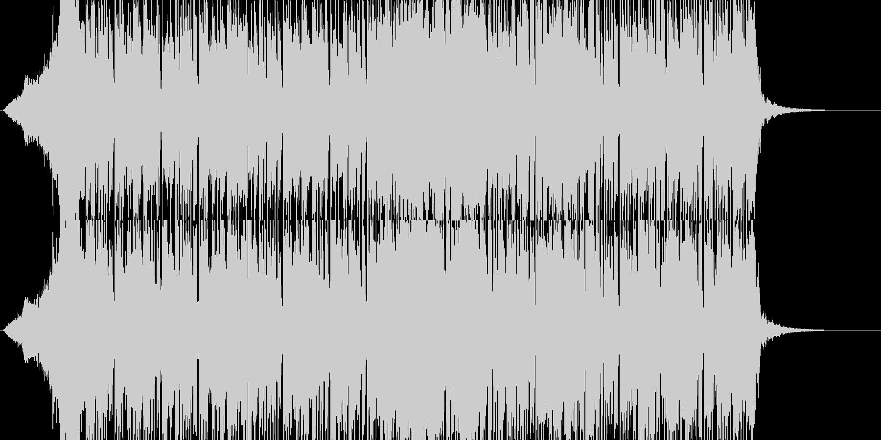 変態的な騒がしくゴチャっとしたシンセ曲の未再生の波形