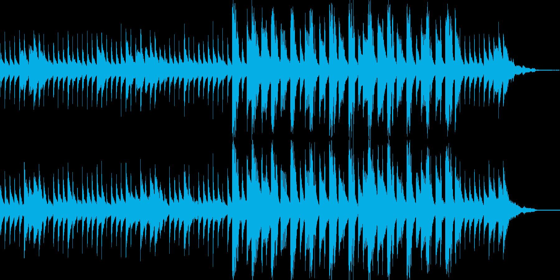 きらきらが入ったテクノポップスの再生済みの波形
