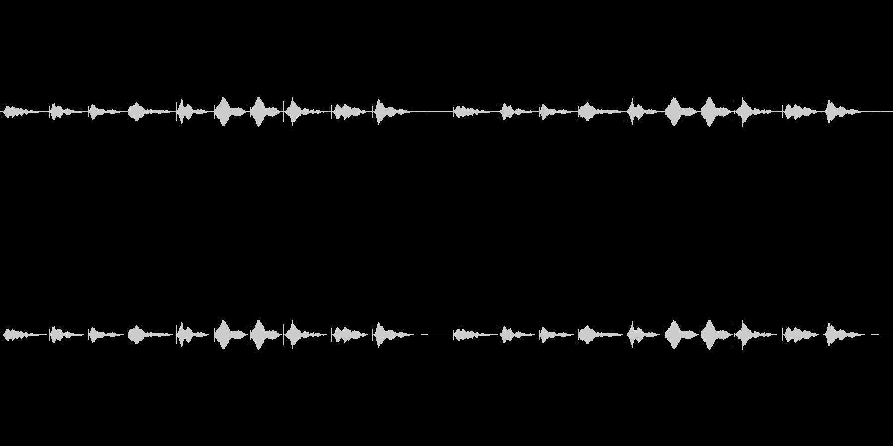 528hzの音叉 ソルフェジオ周波数の未再生の波形