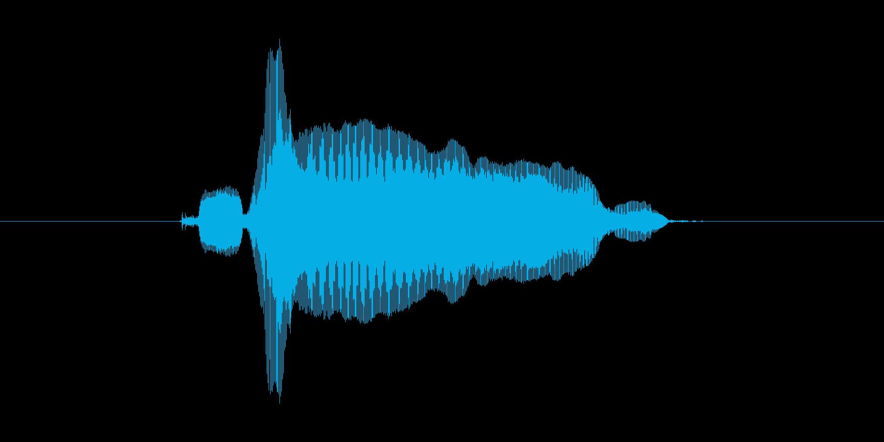 きらーんの再生済みの波形
