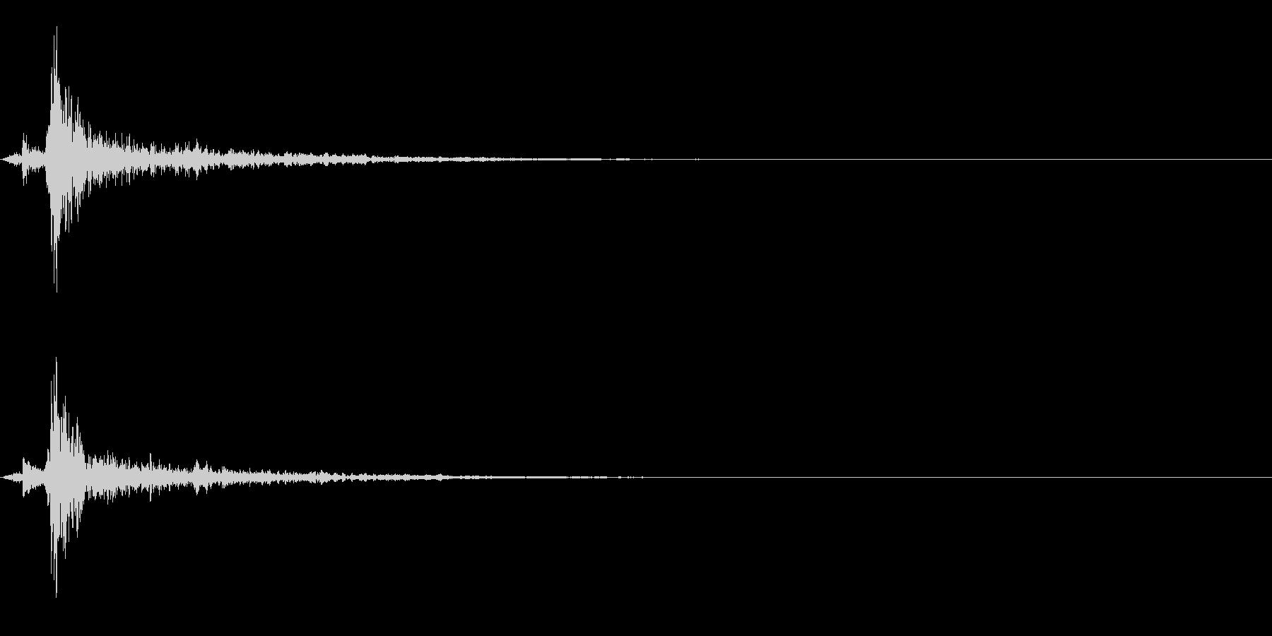 スポーン:ビールの瓶の栓を抜く音の未再生の波形