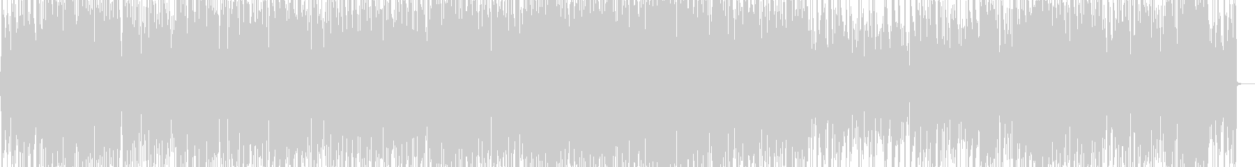 ボサノバ風ポップスのピアノトリオアレンジの未再生の波形
