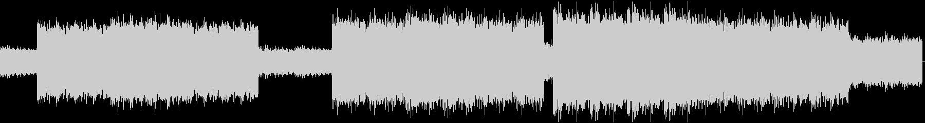 速くスパルタなロッテルダムテクノの未再生の波形