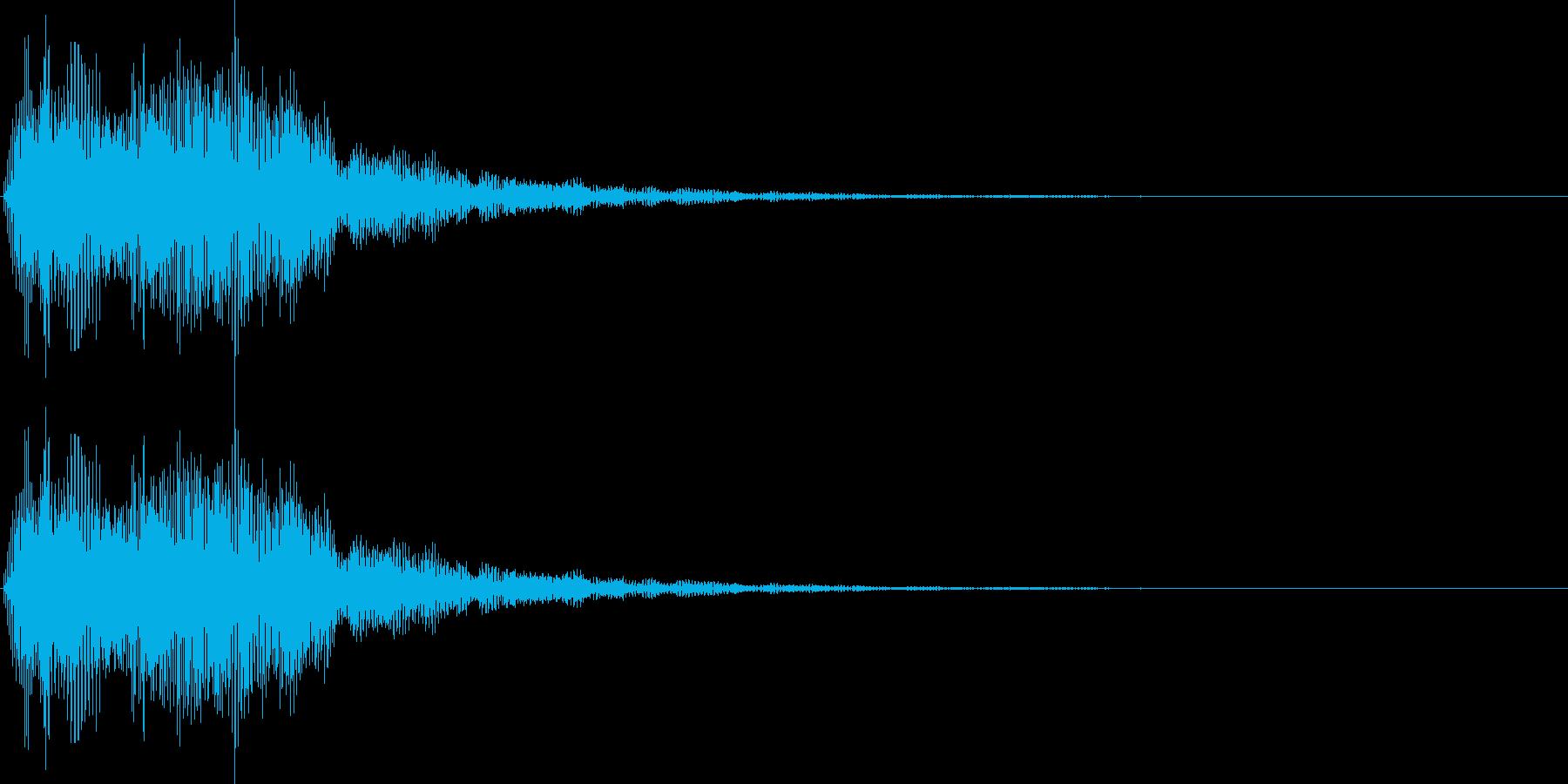 デデーン2 (クイズ出題系 音程普通)の再生済みの波形
