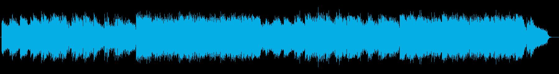 ノスタルジックなシンセ・ギターサウンドの再生済みの波形
