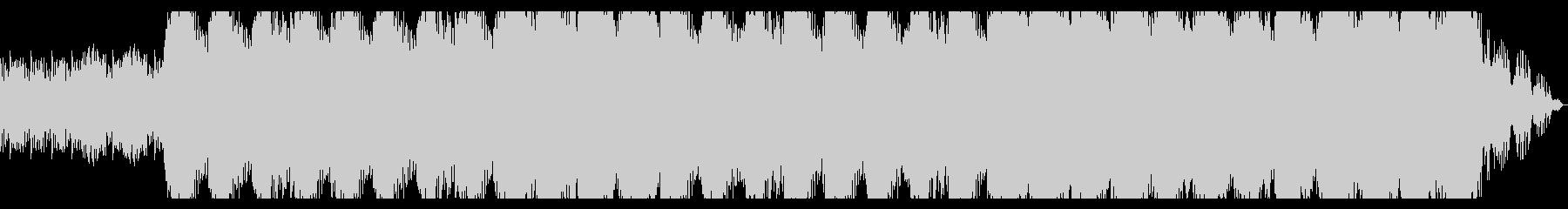 ドラムオーケストラが壮大に響くの未再生の波形