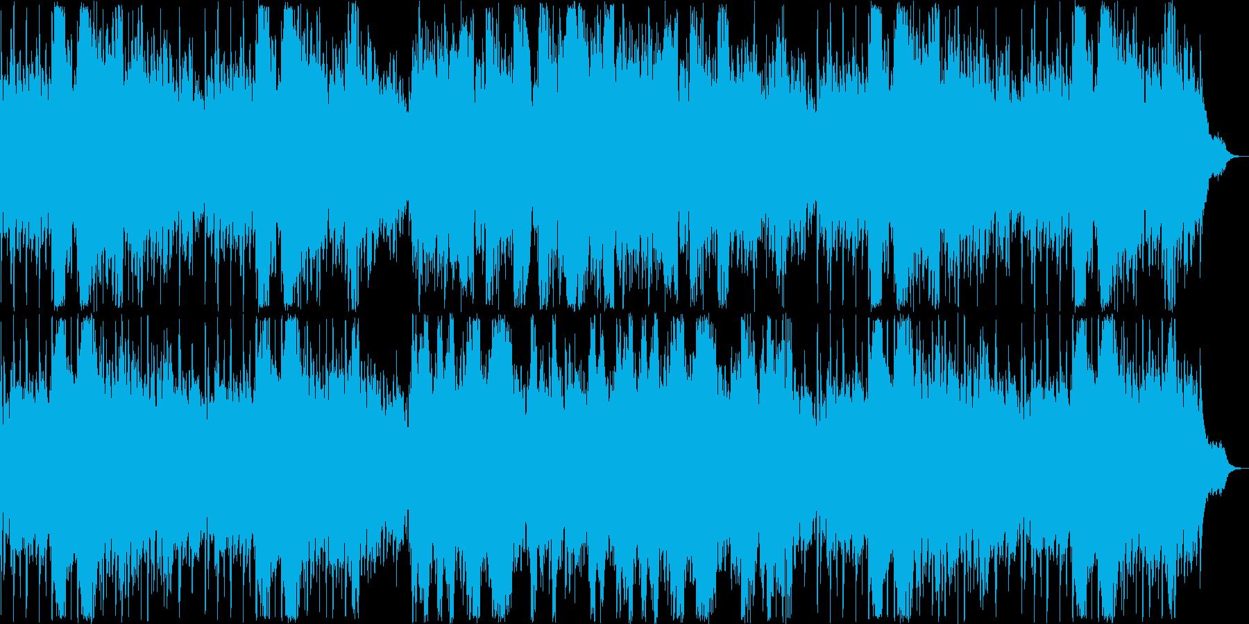 清々しいリラクゼーションミュージックの再生済みの波形
