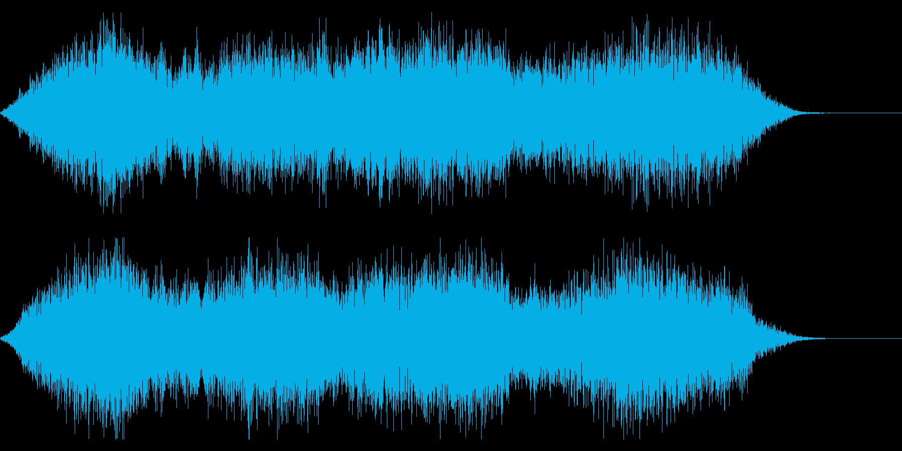 幻想的、ダーク、ホラー系なジングルの再生済みの波形