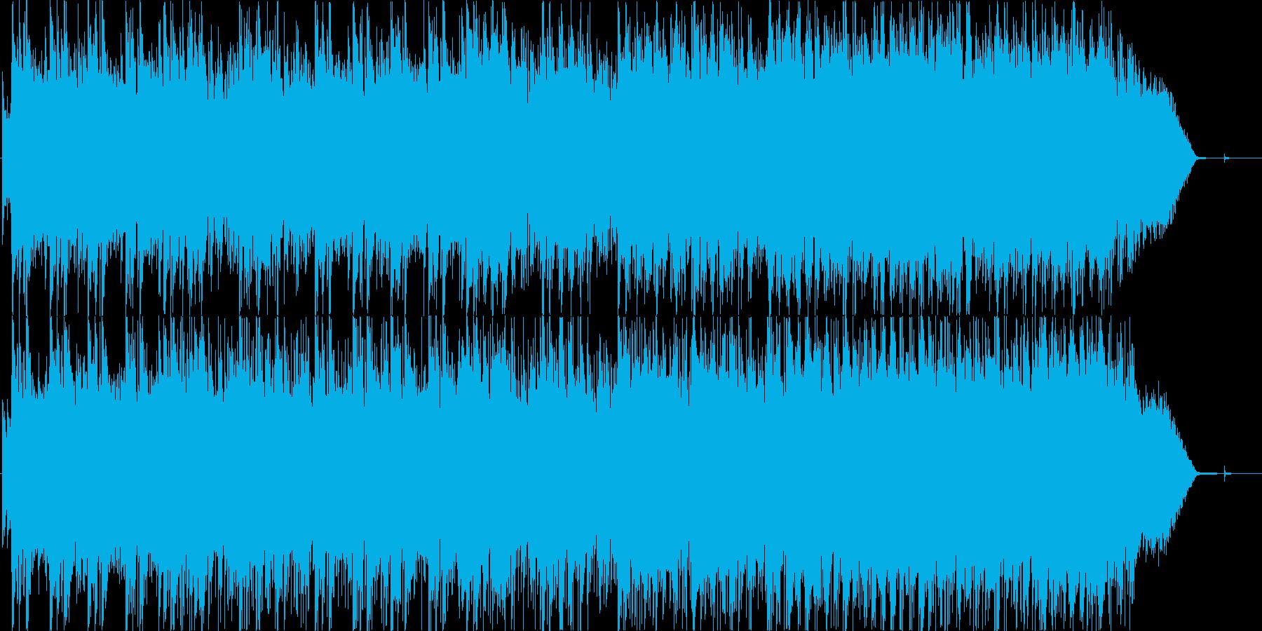 ポールモーリア風オリジナルボサノバ曲の再生済みの波形