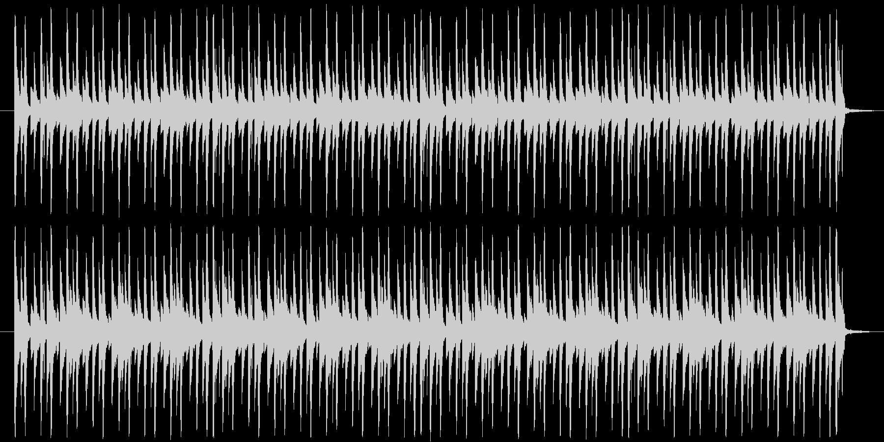 ループ素材です。チップチューン風となっ…の未再生の波形