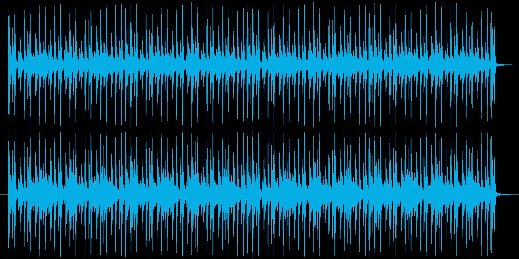 ループ素材です。チップチューン風となっ…の再生済みの波形