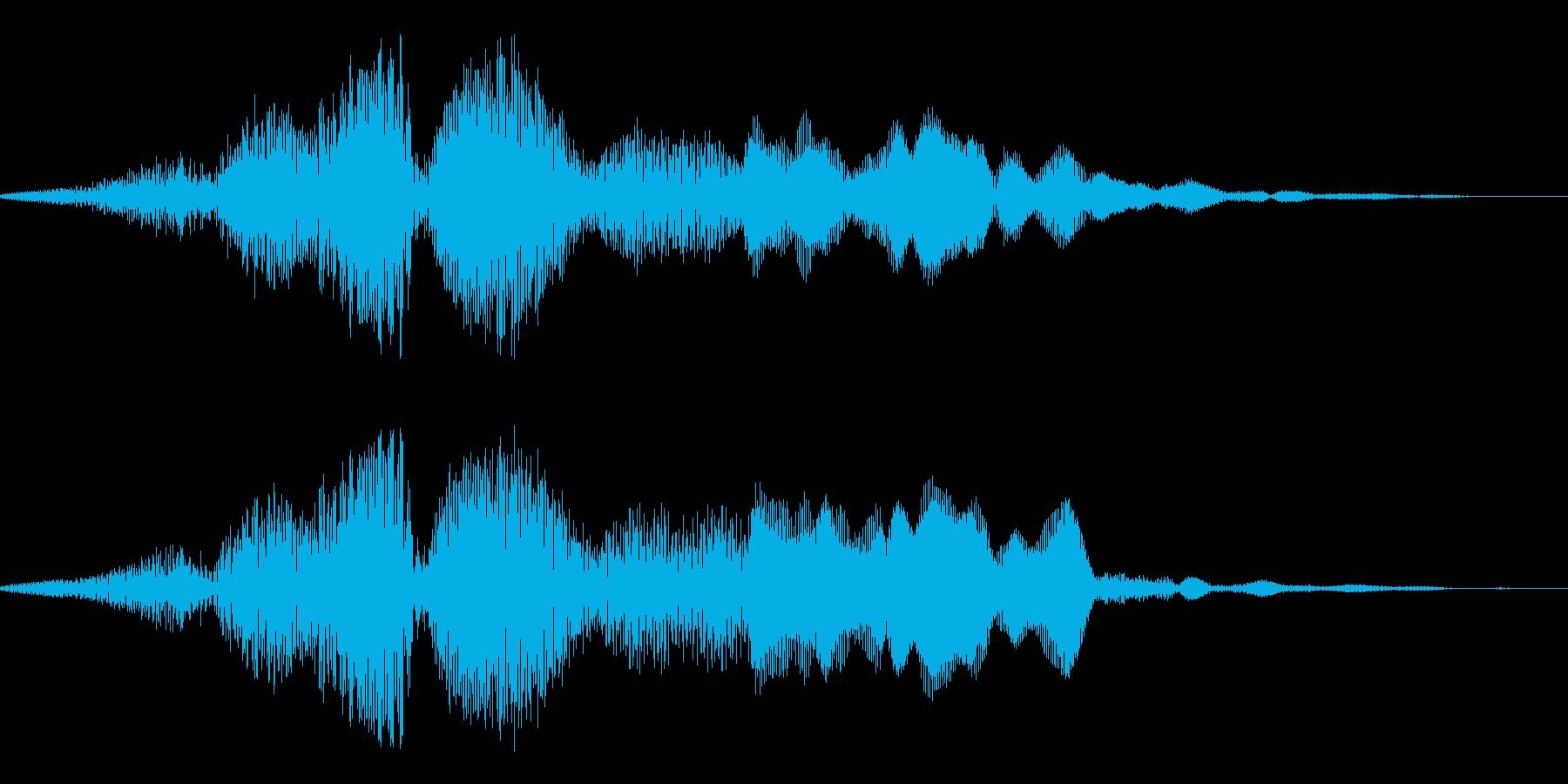 ギギィ~…軋む音 3の再生済みの波形