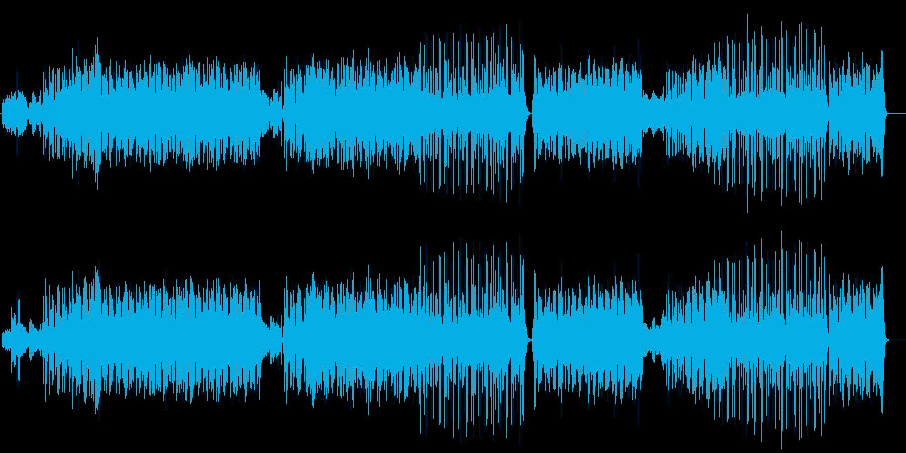 ダンス「JASMENE」の再生済みの波形