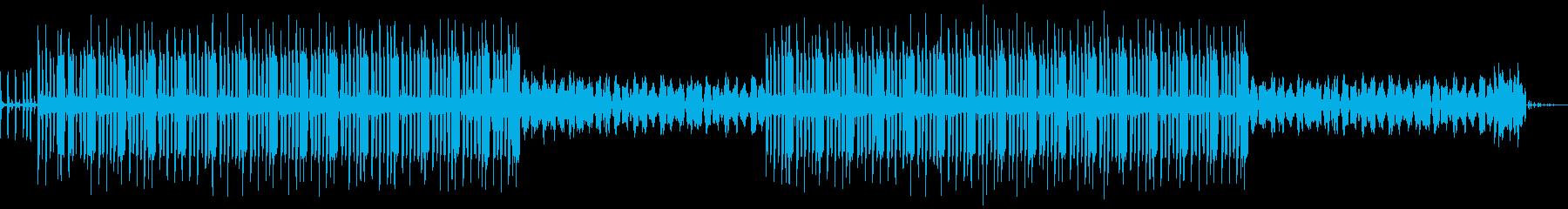 深めのヒップホップビートです。の再生済みの波形
