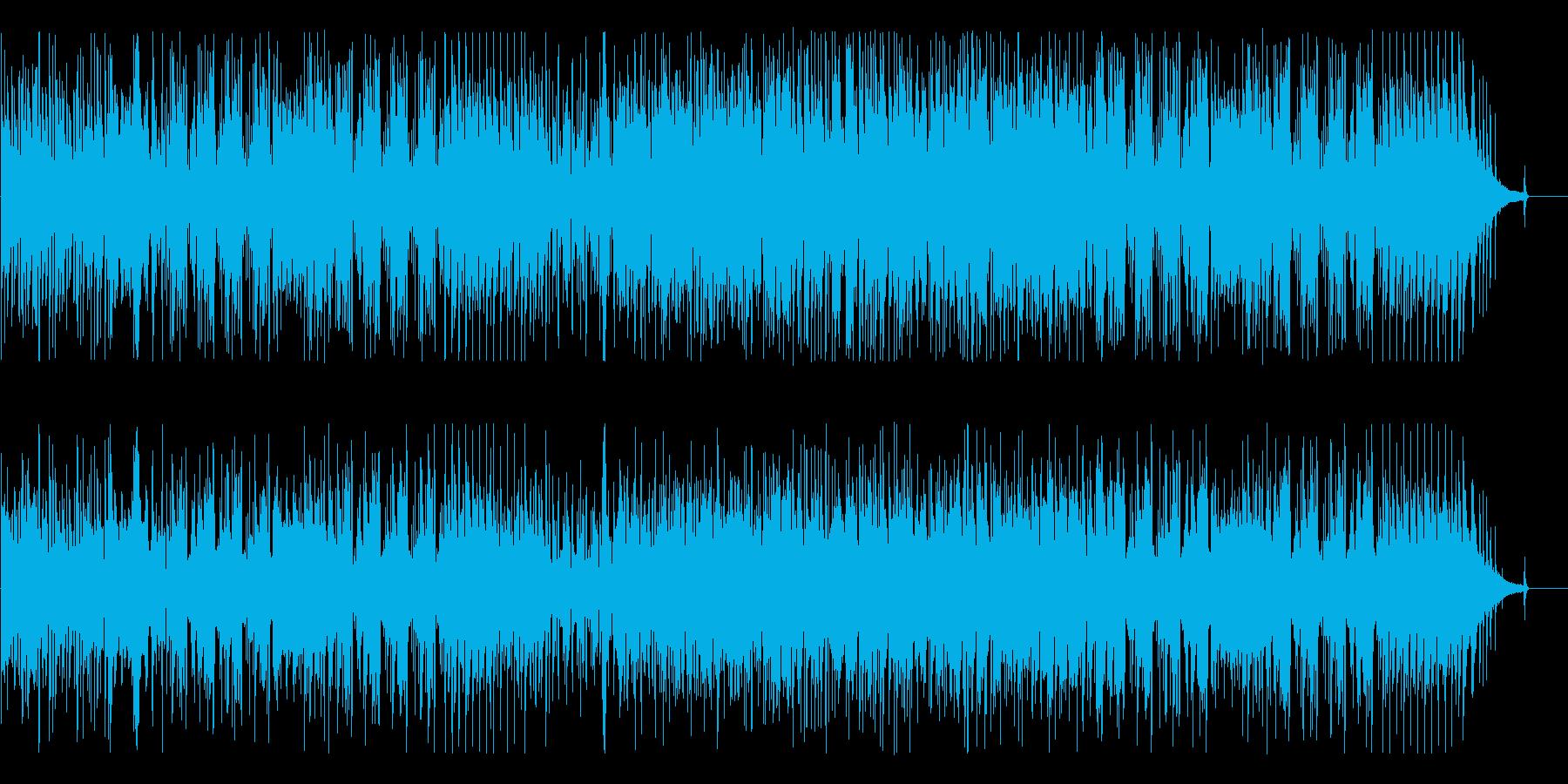 技巧的でカッコいい!現代的な高速ジャズの再生済みの波形