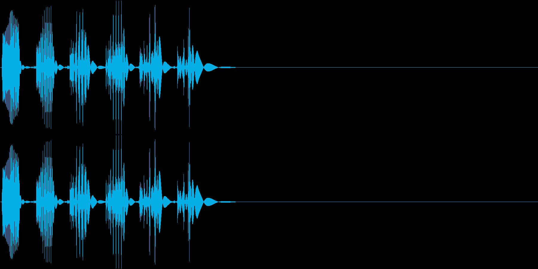 【ポコッ】ファミコン系 敵を倒す音_01の再生済みの波形