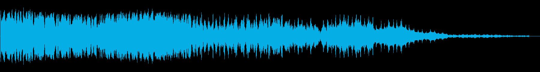 ボワ〜ンボ〜(神秘的・幻想的な効果音)の再生済みの波形