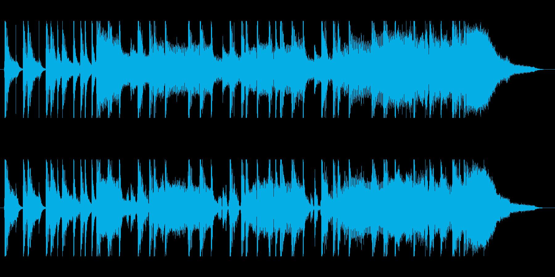 HipHopなジングルの再生済みの波形