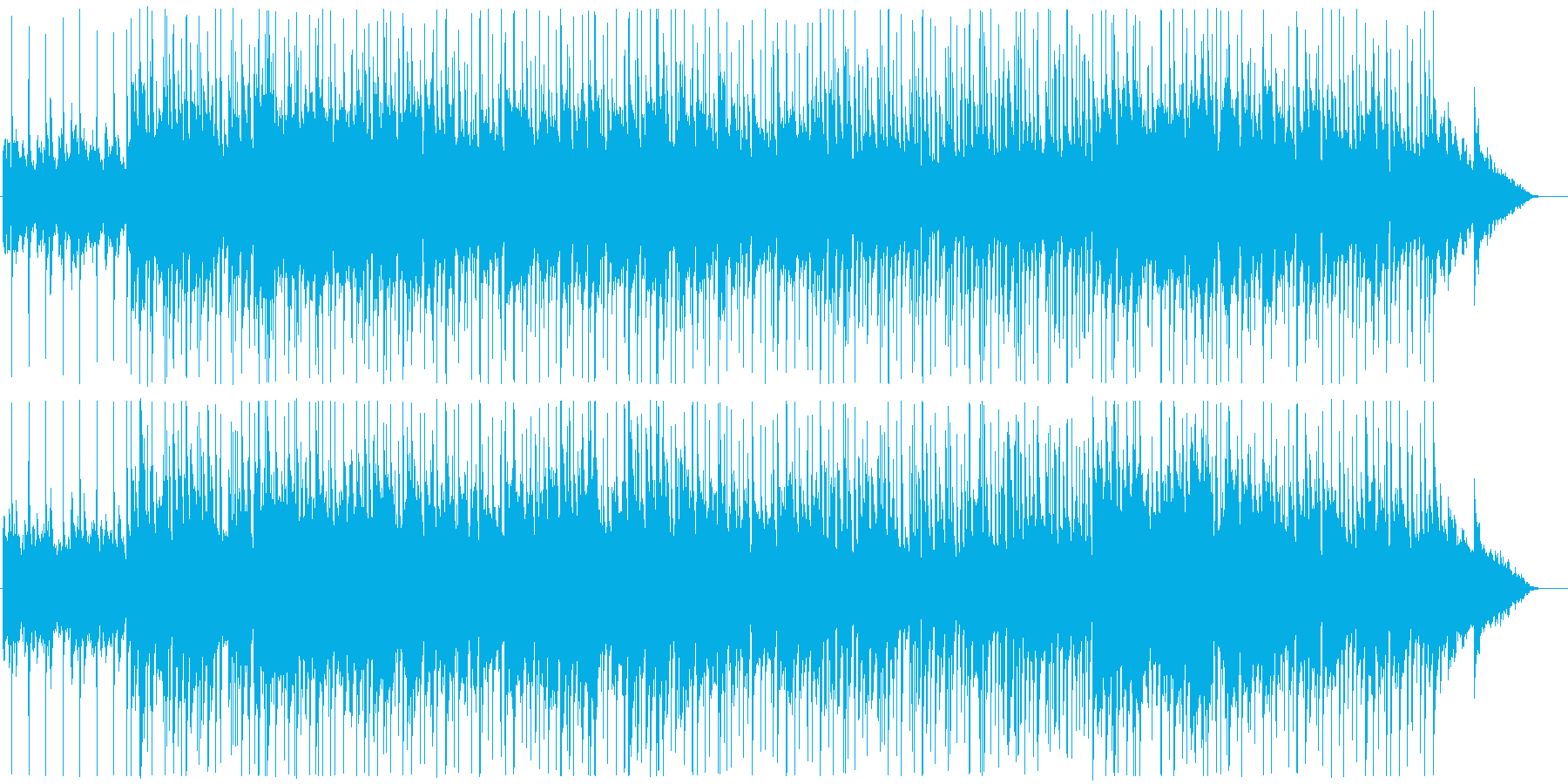 軽快でさわやかなポップスの再生済みの波形