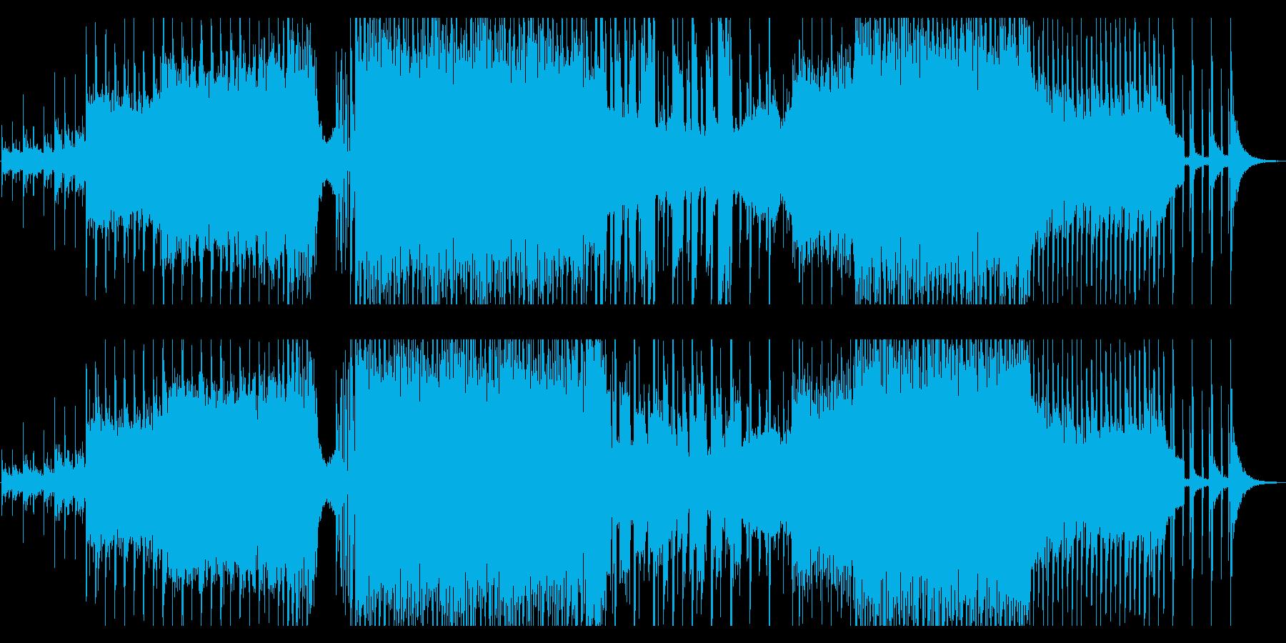 パッヘルベル カノンEDMアレンジの再生済みの波形