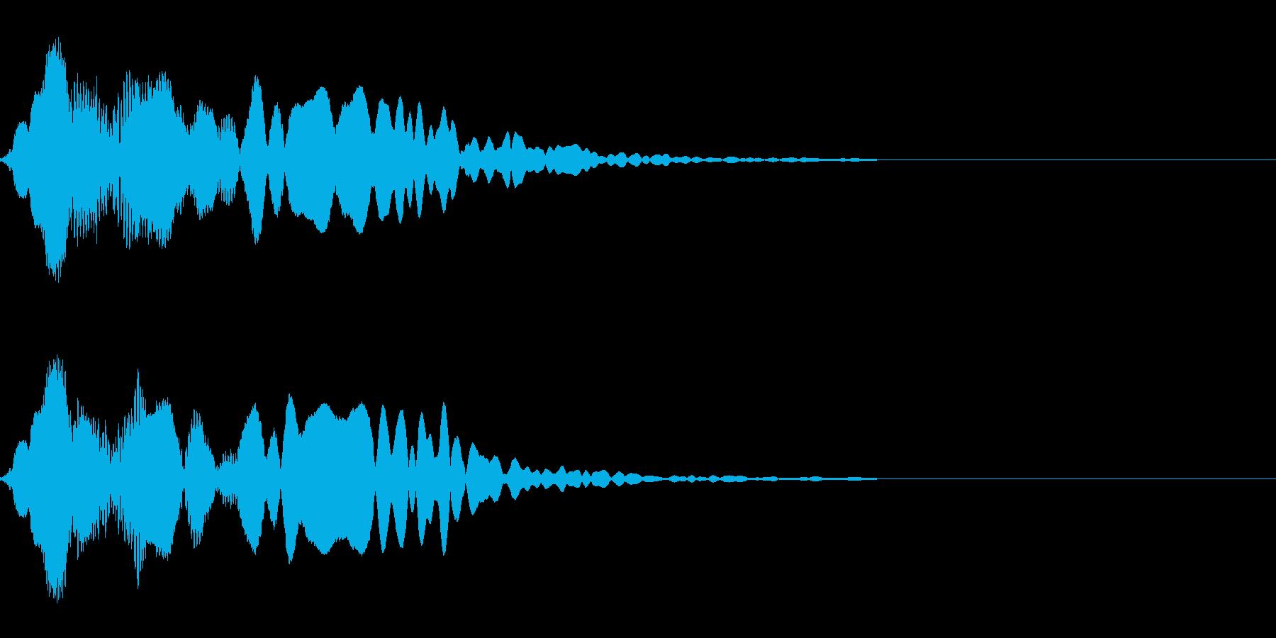 忍者登場 RPG ゲーム  尺八の再生済みの波形