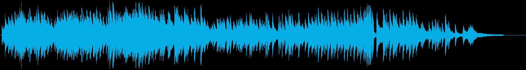 「大きな古時計」をピアノでしっとりと♫の再生済みの波形