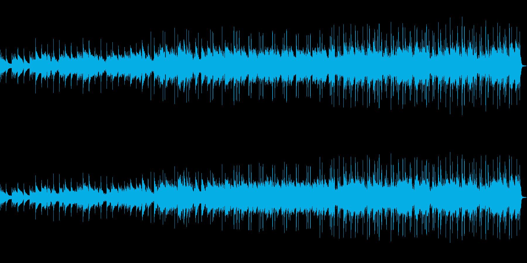 エレピメインの切ない曲の再生済みの波形