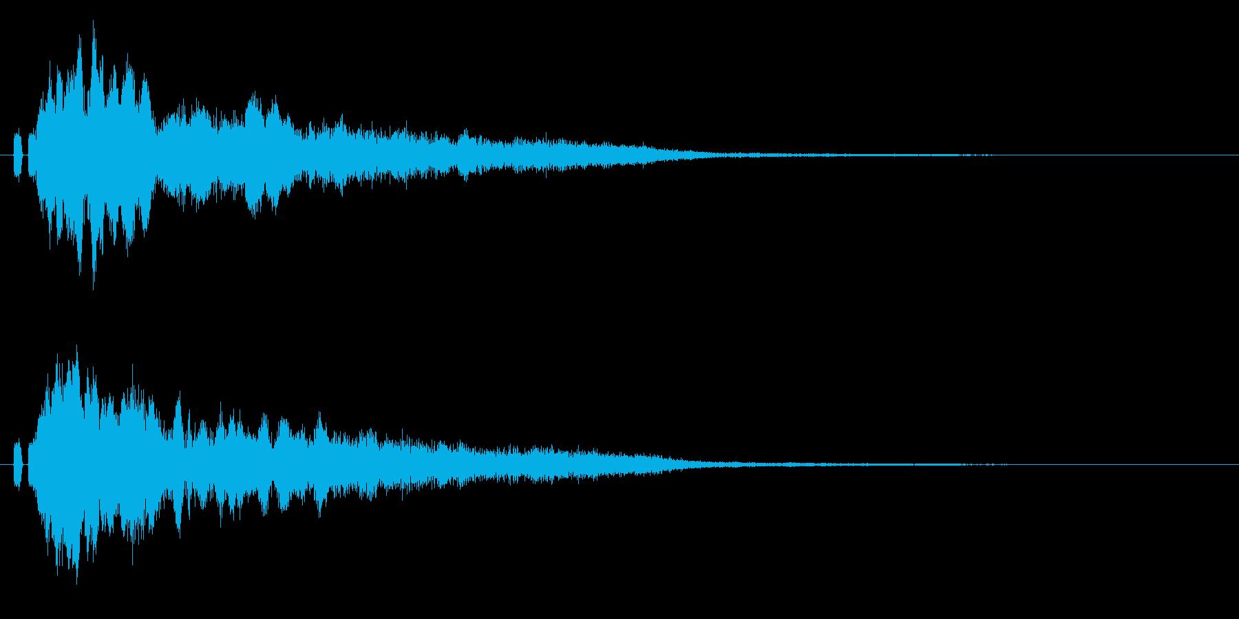 キラン☆魔法ステッキ、流れ星や光に最適9の再生済みの波形